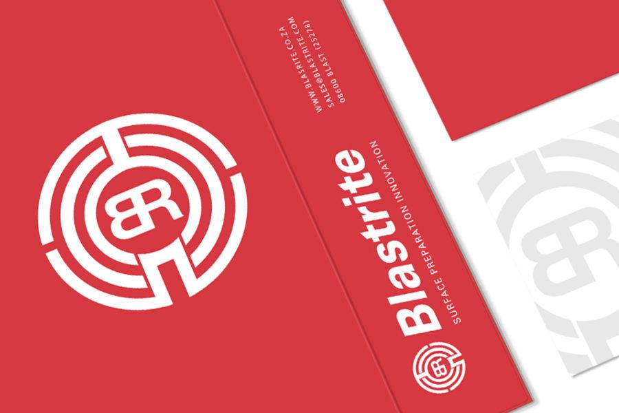 Branding-Blastrite Surface Preparation